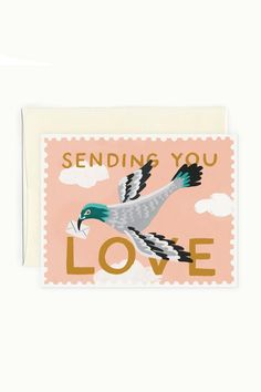 Surprise someone who lives far away with a handwritten hello. #etsy