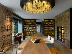 The Wine Library at Six Senses Douro Valley, Portugal