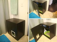 Another kitty, another IKEA hack | 27 Useful DIY Solutions For Hiding The Litter Box