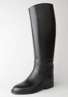 I love the Aigle boots (leather on the inside, rubber on the outside) they're great for our rainy weather here on the West Coast!