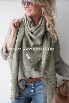 Bow Scarf, Plaid Scarf, Autumn Winter Fashion, Spring Fashion, Soft Summer, Fashion Over 40, Belts For Women, Natural Linen, Capsule Wardrobe
