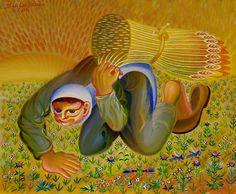Bu artist, painter İbrahim Balaban, from Turkey Bernard Shaw, Turkish Art, Modern Pictures, Artist, Paintings, Google, Paint, Painting Art, Painting