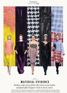Fall 2013 Trend Report : Fall 2013 Trend Report: Material Evidence #17 - Elle Canada : Today.