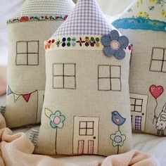 lil house pillows