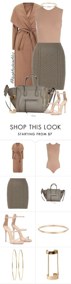"""Always Neutral"" by highfashionfiles ❤ liked on Polyvore featuring Maison Margiela, STELLA McCARTNEY, Sara Weinstock, Jennifer Meyer Jewelry and Forever 21"