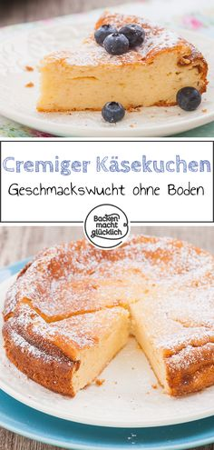 Käsekuchen ohne Boden This creamy cheesecake without bottom catapults us each time from 0 to 100 in the pleasure sky. With the cheesecake without bottom, neither shortcrust nor biscuit break awa Pecan Recipes, Pastry Recipes, Tart Recipes, Cheesecake Recipes, Dessert Recipes, Cold Cake, Keto, Creamy Cheese, Salty Cake