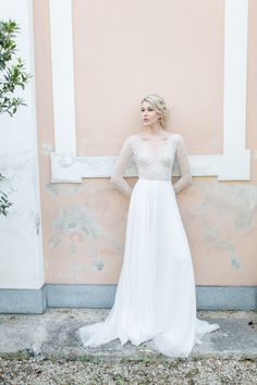 Lace Wedding, Wedding Dresses, Silhouette, Fine Art, Bridal, Fashion, Hermione, Hand Sewn, Shell Tops