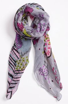POVERTY FLATS by rian 'Wallpaper' Scarf available at #Nordstrom