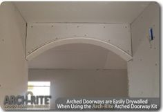 An interior archway is a perfect way to add an architectural detail to any home. The Arch Kit from Arch-Rite allows DIYer's (Do it yourself) the chance to.