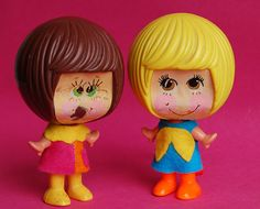 Mattel talking doll c. 1970s- My sister and I had these dolls! Love them!