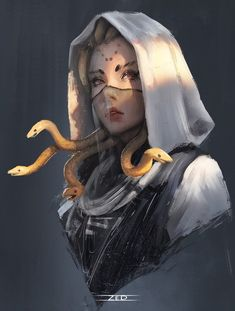 ArtStation - Medusa, _Z eD_You can find Fantasy characters and more on our website.ArtStation - Medusa, _Z eD_ Fantasy Girl, Dark Fantasy Art, Fantasy Artwork, Fantasy Drawings, Fantasy Names, Fantasy Princess, Fantasy Forest, Fantasy Castle, Beautiful Fantasy Art