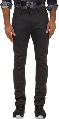 WESTBROOK XO BARNEYS NYXNAKED&FAMOUS New Stacked Guy Black/Gray Slim Jeans 34x34 #WestbrookXO #Slim