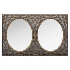 Check out this item at One Kings Lane! Giltwood Double Mirror