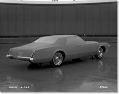 OG | 1967 Cadillac Eldorado Mk7 - Project XP-727 | Clay model dated 1961