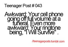 Her ring tone was 'wanted dead or alive' by bon jovi post quotes, Teen Memes, Teen Humor, Mom Humor, Teenager Quotes, Teen Quotes, Funny Relatable Memes, Funny Quotes, Relatable Posts, Funny Tweets