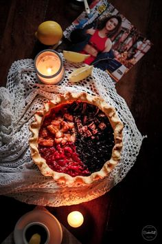 Four Favoured Pie Camembert Cheese, Food Photography, Pie, Desserts, Torte, Tailgate Desserts, Cake, Deserts, Fruit Cakes