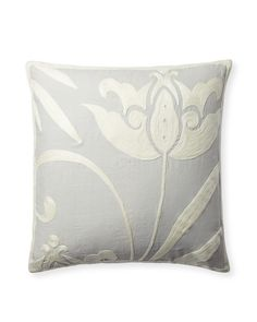 Everly Embroidered Pillow Cover