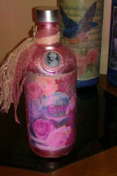 Vintage bottle from me with love to a friend!!!!
