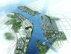 The Nansha New Area is located at the central divergence of the Pearl River Delta, and is now part of the Guangdong Free Trade Zone.