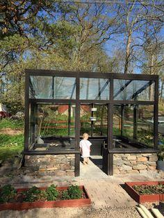 Garden Design Plans - New ideas Diy Greenhouse Plans, Backyard Greenhouse, Backyard Patio, Backyard Landscaping, Backyard Sheds, Modern Greenhouses, Garden Design Plans, Garden Studio, Garden Cottage