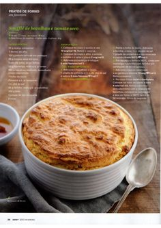 Revista Bimby Fevereiro 2015 Recipe Cards, Gluten Free Recipes, Real Food Recipes, Macaroni And Cheese, Food To Make, Dairy Free, Free Food, Good Food, Deserts