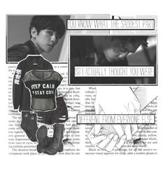 Monster By. EXO by josi-heart on Polyvore featuring polyvore fashion style Calvin Klein Soda clothing