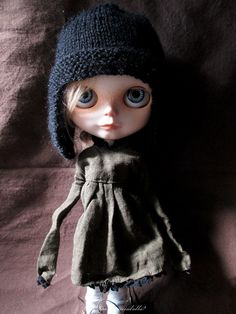 Blythe Doll Outfit / Dress /  1/6 doll size / by Dakawaiidolls, $22.00