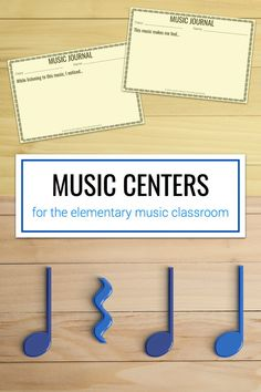 Great tips for implementing music centers in the elementary music classroom. Plus, free downloads that you can use with your own centers.