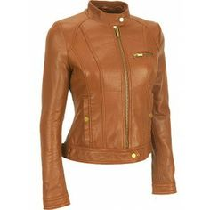 HOLLYWOOD INSPIRED WOMEN'S LEATHER JACKET