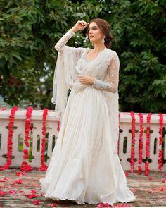Lace Wedding, Wedding Dresses, Maya Ali, Victorian, Pakistani Actress, Eid, Actresses, Ali Official, Actors