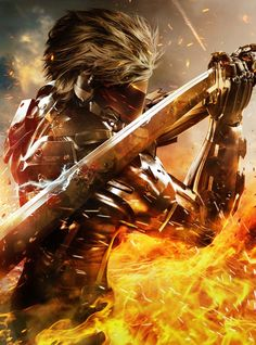 Metal Gear Rising: Revengeance Poster