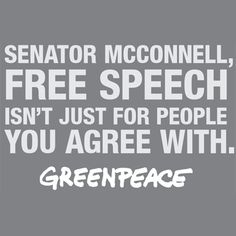 Greenpeace Calls Out Mitch McConnell's IRS Hypocrisy With Full Page Ad in Lexington Herald-Leader   Common Dreams