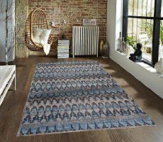 2389 Gray Blue 5'2x7'2 Area Rug Modern Carpet Large New