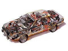 Audi 200 Quattro rally