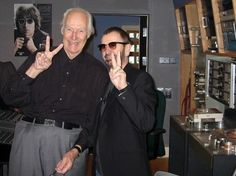 With Late Sir George Martin