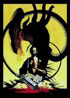 Aliens Salvation #1. Mike Mignola