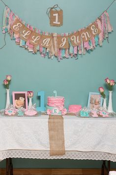 Shabby Chic 1st Birthday