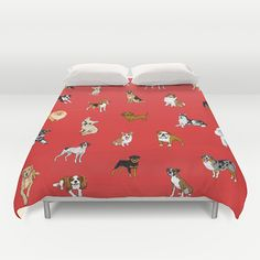 Dog Duvet Covers by Lili Chin | Dog Milk