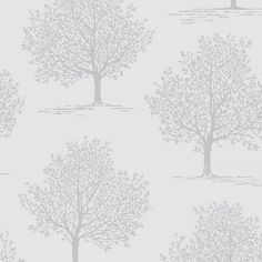 An elegant silver tree with glitter highlights on a silver/grey background