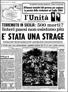 14 gennaio 1968  terremoto_belice_giornale_epoca_