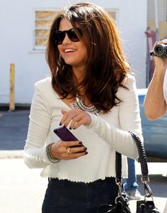 Think she got the part? Selena Gomez was spotted attending a casting call in Studio City, CA on Monday (February 3rd), and while she looked quite serious going in, she couldn't have appeared …