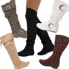 Black Boots These Look Comfy Botas Hasta Las Rodillas