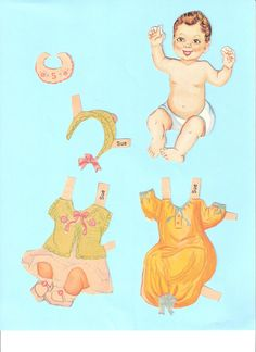 All About My Paper Dolls.....: Brand New Baby