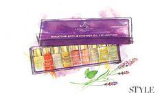 Aromatherapy oils illustration By Melissa Bailey