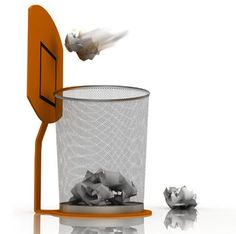 Cool trash can! Want for my room!