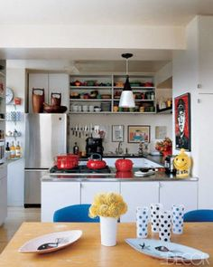 20 Kitchens That Will Remind You Why Blue Is Your Favorite Color - ELLEDecor.com