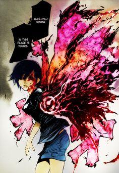 Touka Kagune Tokyo Ghoul by IzumiEien.deviantart.com on @DeviantArt