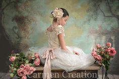 Beautiful Flower Girl Dress by CarmenCreation on Etsy
