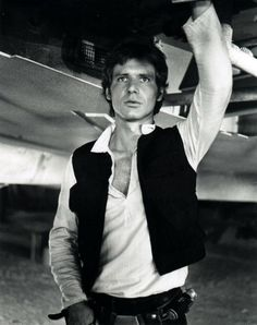 Star Wars -- the original triology.  Harrison Ford  as Han Solo