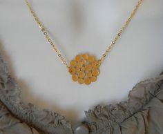 Gold Bubble Necklace